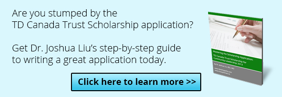 td canada scholarship essay Td scholarship essay tips a winning scholarship essay – youth canada in the end i decided to accept the td canada trust scholarship for community a great.